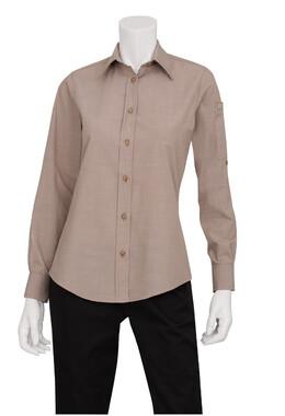 Mens Ecru Dress Shirt