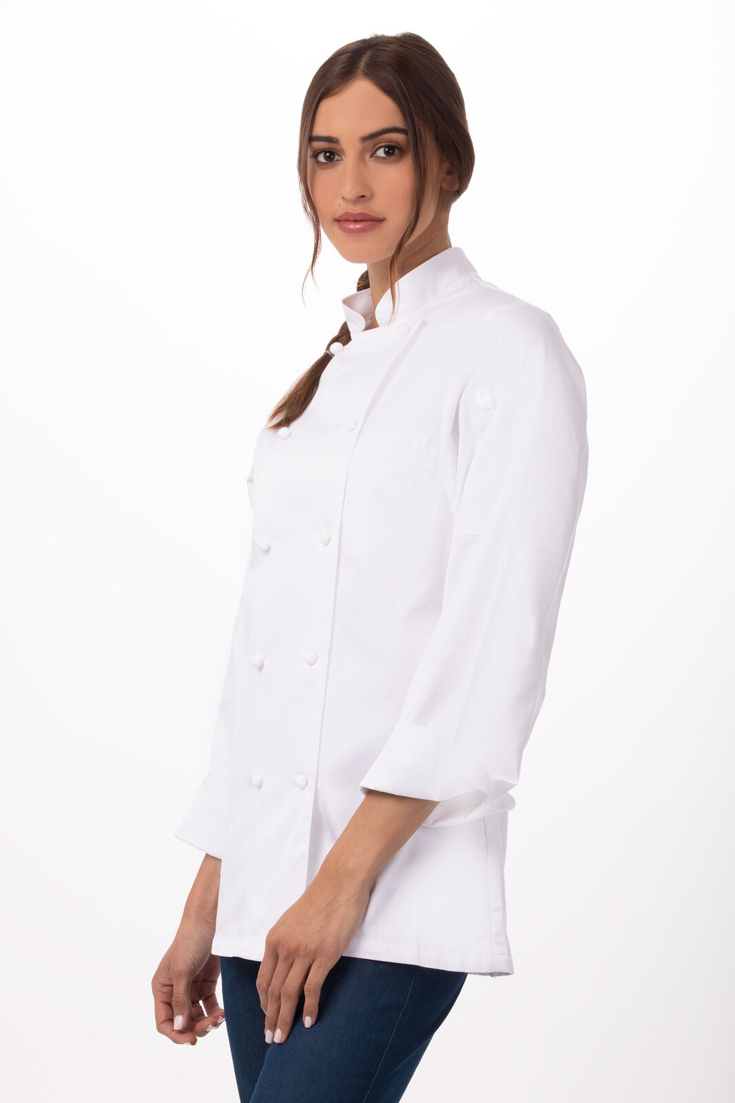 Elyse Premium Cotton Chef Jacket