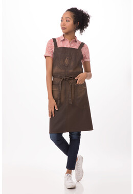 Galveston Cross-Back Bib Apron