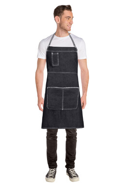 Bronx Denim Cross Back Apron
