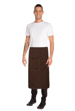 Soho Chocolate 3/4 Wide Apron