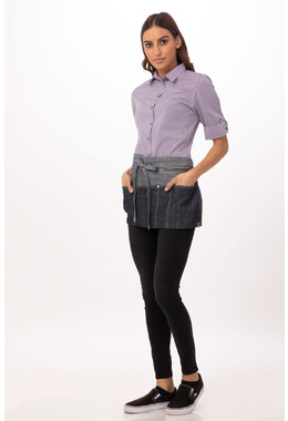 Manhattan Indigo Blue Denim Waist Apron