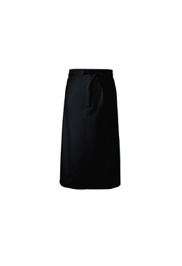 Black 3/4 Bar Apron