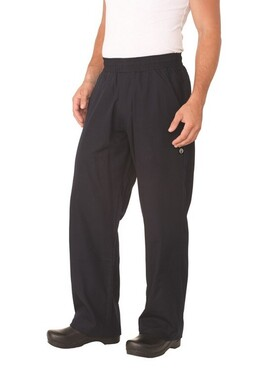 Navy Better Built Baggy Chef Pants
