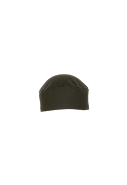 Total Vent Black Chef Beanie