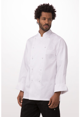 Madrid White 100% Cotton Chef Jacket
