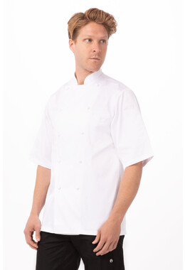 Capri Premium Cotton Chef Jacket