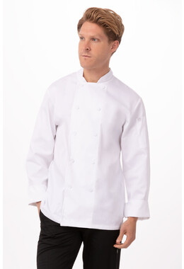 Mayenene White Chef Jacket