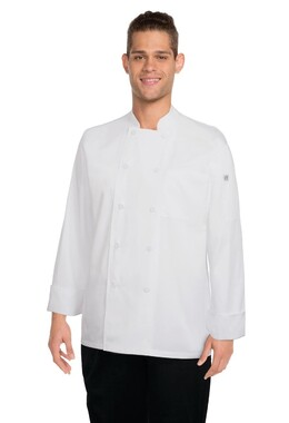 Calgary White Cool Vent Chef Jacket