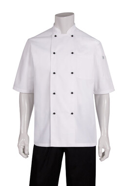 Macquarie White Basic Chef Jacket