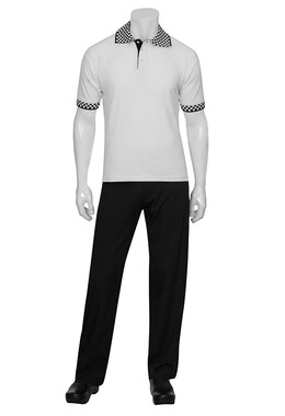 Traditional White Polo Shirt -DC