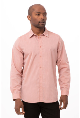 Modern Chambray Mens Dress Shirt