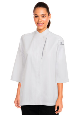 Verona White Women's Chef Jacket