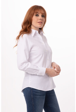 Women's White Oxford Shirt