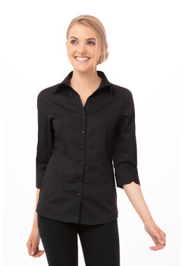 Finesse Women's Black Shirt