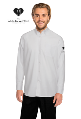 White Jacket Effect - Men's Shirt