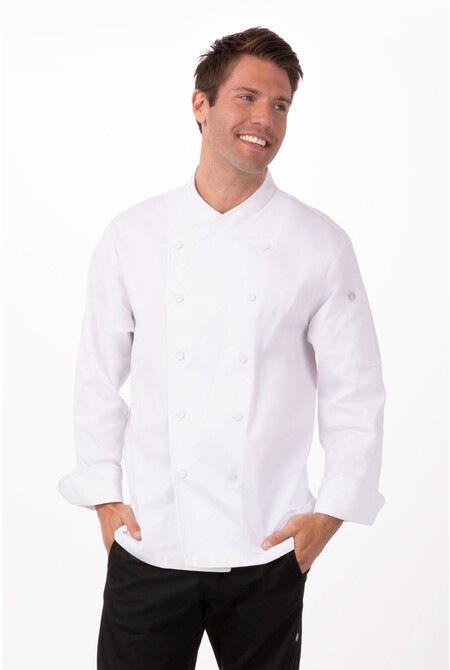 St. Maarten White Chef Jacket