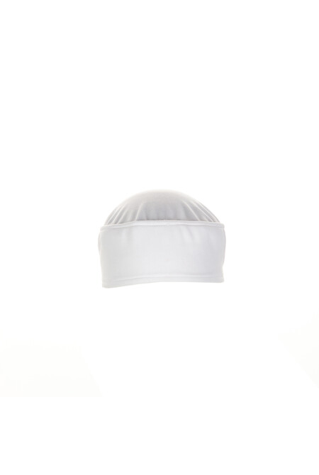 Total Vent White Chef Beanie