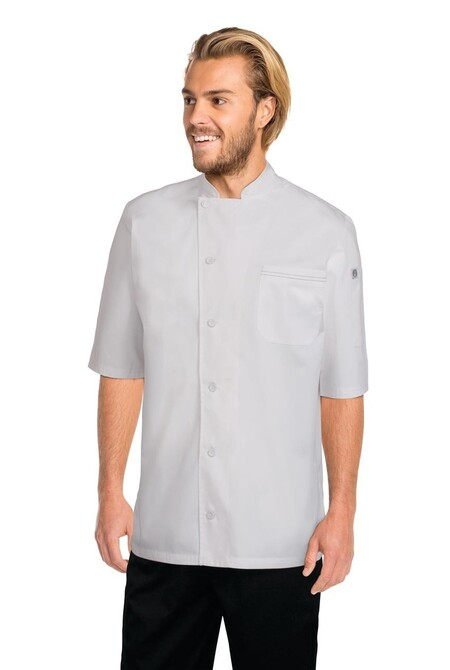 Valais White V-Series Chef Jacket